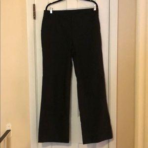 JCrew black cotton trousers Size 12 NEVER worn